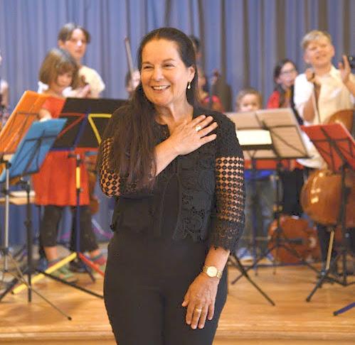 Verena Zeller beim Konzert